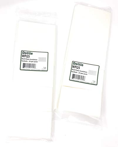 L.H. Dottie WPI25 Wall Plate Insulation Gaskets, 25 for sale  Delivered anywhere in Canada