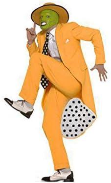 MJPARTY - Disfraz de la máscara para hombre de Jim Carrey de los ...