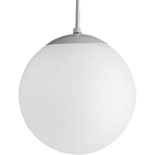 - Progress Lighting P4402-29 Opal Globes Satin White Pendant
