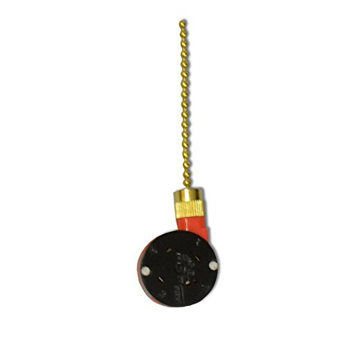 Harbor Breeze 6.5-in Brass Metal Pull Chain Connector