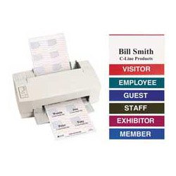 Amazoncom Inkjet Laser Printer Name Badge Inserts X Guest - Name badge printer