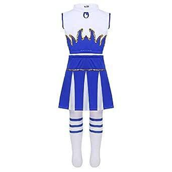 dPois 3Pcs Disfraces de Animadora Fútibol Tenis Baloncesto ...