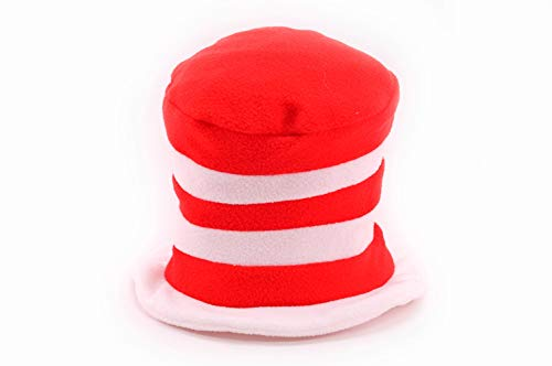elope Dr. Seuss Toddler Cat in the Hat Fleece Hat]()