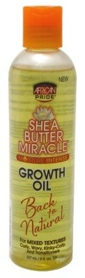 African Pride Shea Butter Miracle Growth Oil 8oz (2 Pack)