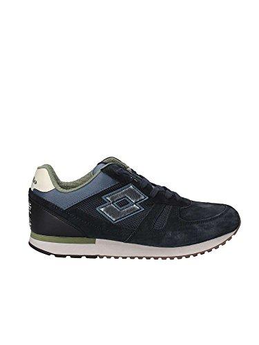 Lotto Uomo Tokyo Shibuya Leggenda blu Sneakers Blu Suede Mesh rqSCrRw