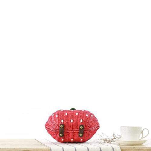 FAIRYSAN , Sac bandoulière pour femme Rouge rouge