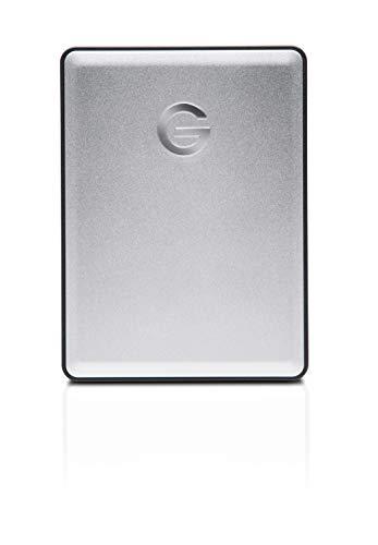 G-Technology 2TB G-DRIVE mobile USB 3.0 Portable External Hard Drive, Silver - 0G06072