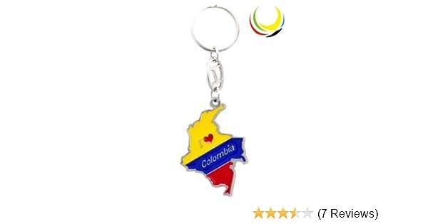 Amazon.com  Keychain - COLOMBIA MAP-  Automotive f0e8867c6