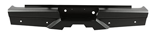 Steelcraft 65-22260 Custom Fit 2010-2017 Dodge Ram 2500/3500 Heavy Duty Elevation Rear Replacement Bumper, Black