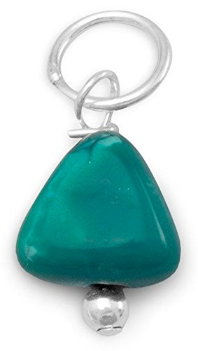 Turquoise Sterling Silver Charm - 3