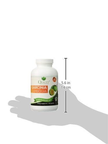 Garcinia Cambogia *** 100% Pure Garcinia Cambogia Extract with HCA, Extra Strength, 180 Capsules, All Natural Supplement