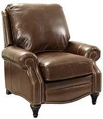 Barcalounger Avery 7-2160 Recliner Chair - Bradford Whiskey 5146-86 All Leather