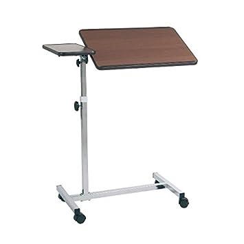 mopedia - Bandeja de cama sobre ruedas - Ajuste Manual - Natural: Amazon.es: Salud y cuidado personal