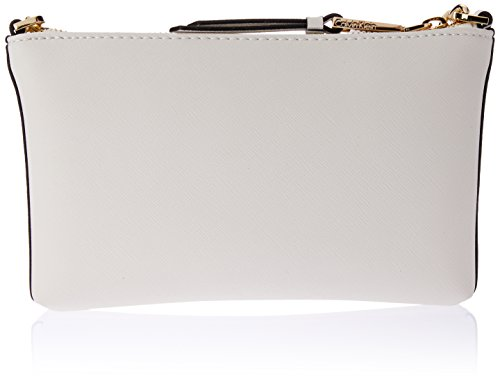 Calvin Klein Women's Hayden Key Item Saffiano Top Zip Chain Crossbody