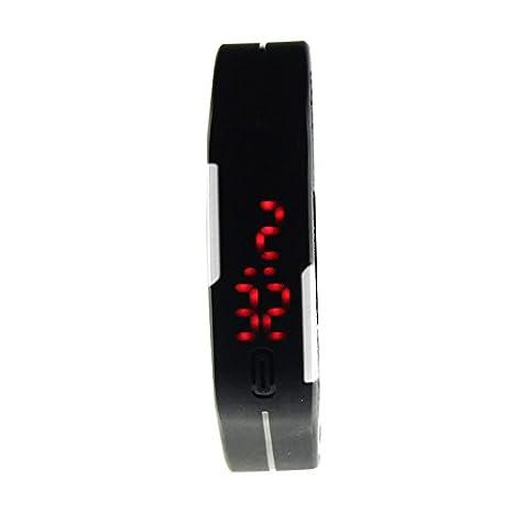 WMWMY Silicona Digital LED Outdoor Sports Watch Reloj de Hombre Las Principales Marcas de Relojes de Lujo la Moda Masculina Watch: Amazon.es: Electrónica