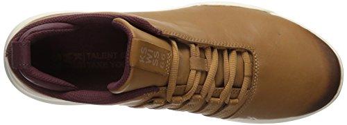 K-swiss Mens Sneaker Gen-k Penny Totalement Bronzé / Granata Noir