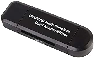 Multifunction Smart OTG Card Reader Writer High-Speed USB 2.0 SD ...