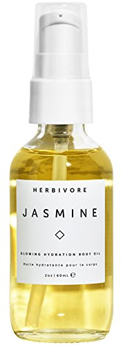 Jasmine Dry Oil - Herbivore Botanicals - All Natural Jasmine Body Oil (2 oz)