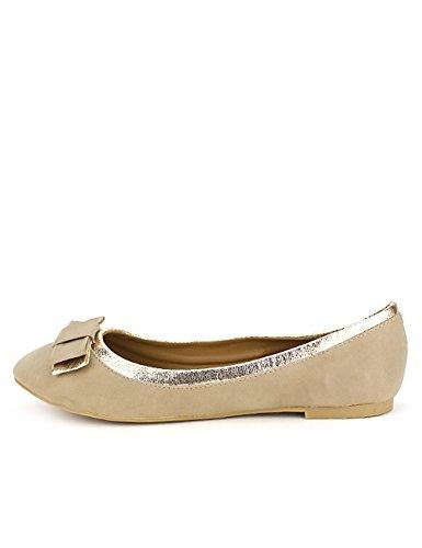 Cendriyon Ballerine Beige TRENITA Mode Chaussures Femme Beige CIERMoKeX
