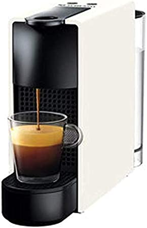 Jsmhh Mini doméstica pequeña Mini cápsula de café automática máquina de Comprimidos de Prueba Filtro de la máquina-roja Cafetera Goteo de café (Color : White): Amazon.es: Hogar