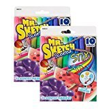 Mr. Sketch Not Available Sanford Scented Stix Watercolor Markers, Assorted Colors 2 Packs of 10