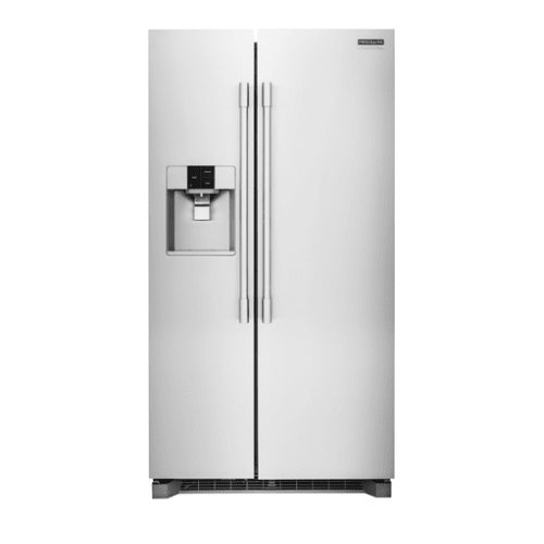 Frigidaire Professional Stainless Steel Side-By-Side Refrigerator