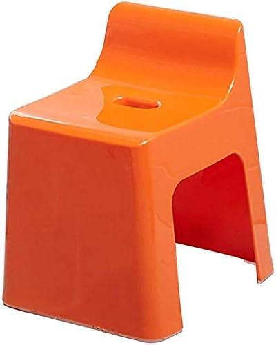 Haushalt rutschfester Duschhocker Kunststoff-Duschsitz Hocker Fußwaschung Hocker Mode Sicherheits-Rutsch Trapez- Kinder Badhocker mit Rückenlehne Multifunktions-Duschhocker Kreative multifunktionale D