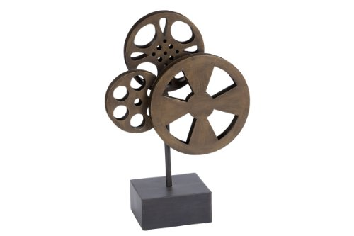 Deco 79 Metal Movie Reel Elegant Accessory for Conference Room by Deco 79