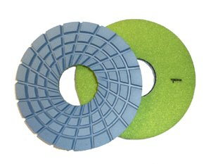 Toolocity CPP05SET 5-Inch Con-Shine Dry/Wet Diamond Polishing Pad for Concrete Set of 5