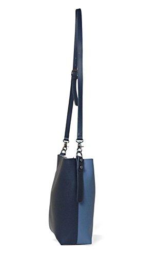 bandolera bolso mujer grande Bolsos Bolsos tote MAMBO granate azul Azul Oscuro rosa y shopper mujer bolsos pvdpqwXxF
