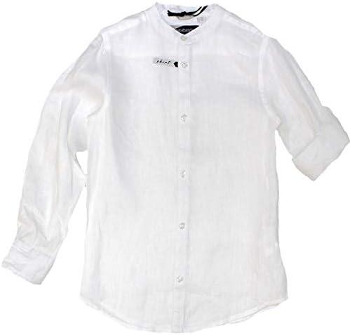 Sarabanda - Camisa - Camisa - Liso - Sin Cuello - para niño: Amazon.es: Ropa y accesorios