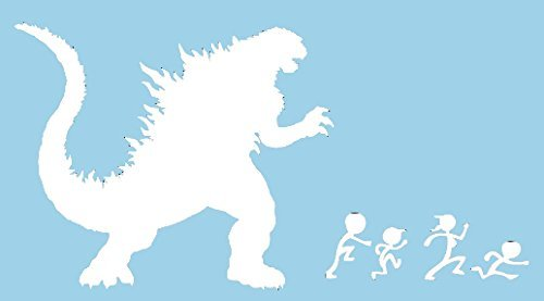 godzilla wall decal - 8