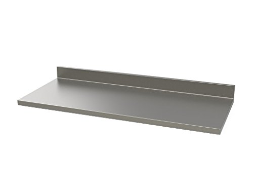 Stainless Supply 304 Stainless Steel Countertop (Various Sizes Available; See Drop Down Menu) - Selected Size: (9
