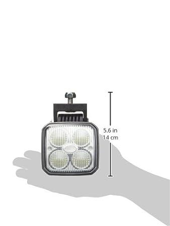 HELLA 2ZR 996 284-501, Q90 compact LED, R/ü ckfahrleuchte, 4LEDs, w/ä rmeleitendes Kunststoffgeh/ä use, korrosionsbest/ä ndig, 2.000mm Leitung, ECE-R23, 12//24V Hella KGaA Hueck /& Co.