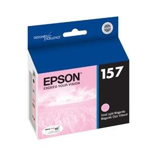 Epson T157620 25.9 ml - vivid light magenta - original - ink cartridge - for Stylus Photo R3000 -