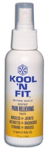 Kool N Fit Pain Relieving Liquid Spray - 4 Ounce by Kool N FIt