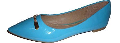 Pumps Für In Azul Lackschuhe Damen Schuh Low Plataforma Ein 3 Ganz Hier modell Damenschuhe Hell Schuh hohenlimburgauffallende Heels 71104103001088 Blau Optik w Muje Besonderer Blau Hochglanz Y4wFfZqEx