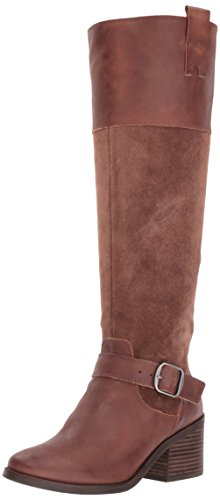 Lucky Brand Women's Kailan Equestrian Boot, Tobacco, 6 Medium US by Lucky Brand