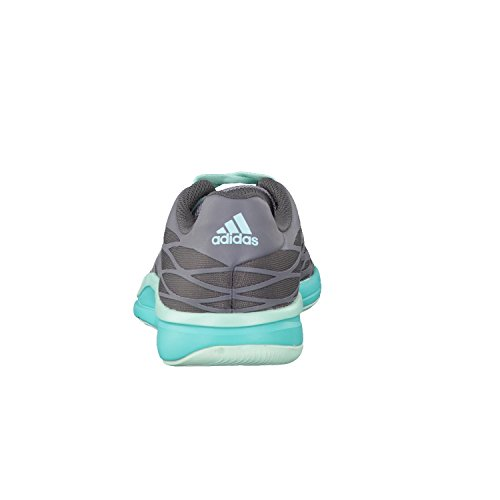 adidas - Zapatillas para deportes de interior de tela para mujer gris - granite/grey/vivid mint f14