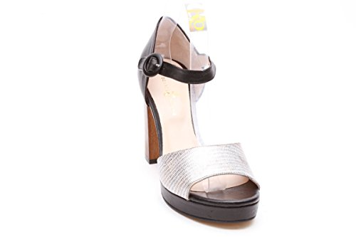 Scarpe italiane sandali donna nero
