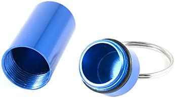 Aluminio Llavero Pastillas Drogas Soporte Caja Porta ...