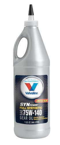 Valvoline 75W 140 SynPower Full Synthetic