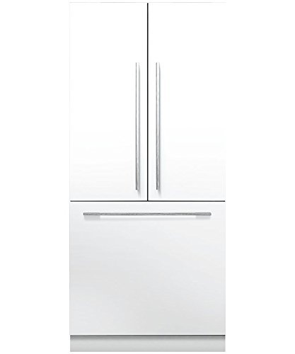 "Fisher Paykel RS36A80J1 36"" Star K Energy Star Built-In French Door Refrigerator with 16.8 cu. ft. Capacity 80""/84"" Tall ActiveSmart Foodcare Adaptive Defrost Fast Freeze and LED Lights: Panel"
