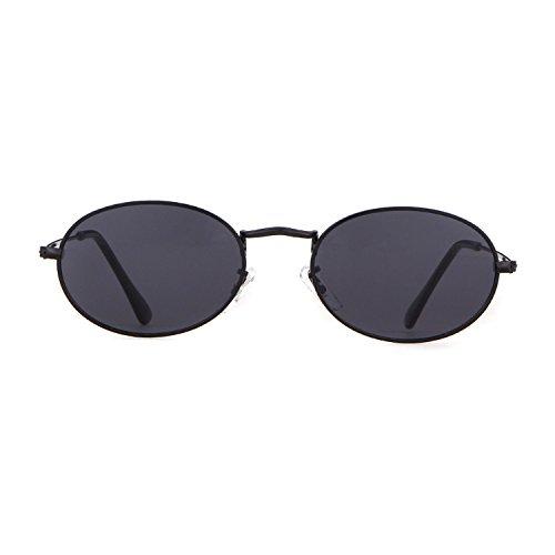 Pour Lunettes de gray Femmes Soleil lens New 1 ADEWU Black frame w71qxCx