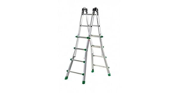 Codiven. S.L. - Escalera Multiuso Aluminio 8+8 Ta-4: Amazon.es: Bricolaje y herramientas