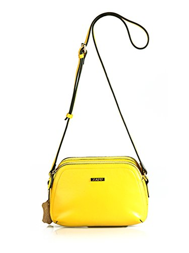 Bolso De Amarillo Zapp Grava colore 'thrice' Cuero 7wxxEq54