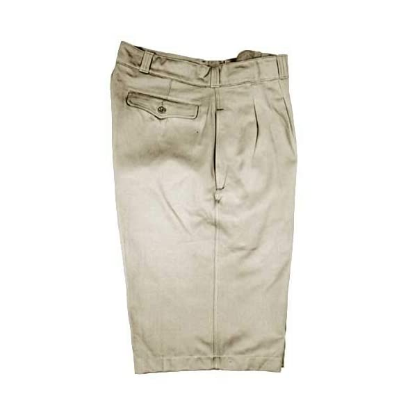 Military Outdoor Clothing Never Issued 1950 S Vintage Cotton French Khaki Shorts 7 38 X 6