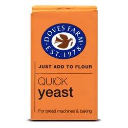 Doves Farm Quick Yeast 125G X 4