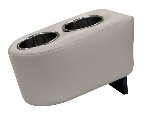 Wise Stainless Steel Dual Pontoon Cup Holder, (Pontoon Boat Cup Holders)