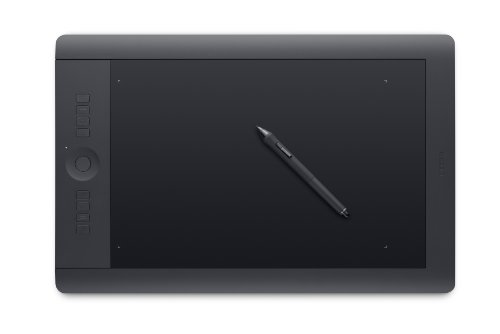 Wacom Intuos Pro Pen and Touch Large Tablet (PTH851) OLD ...